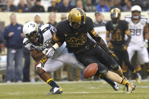 Army-Navy Game 2012: Fumble Dooms Army, Navy Retains Commander-in-Chief's Trophy