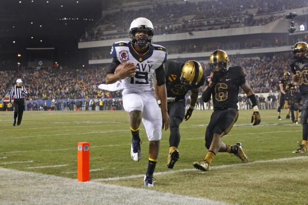 Navy Beats Army, 17-13, in 113th Meeting