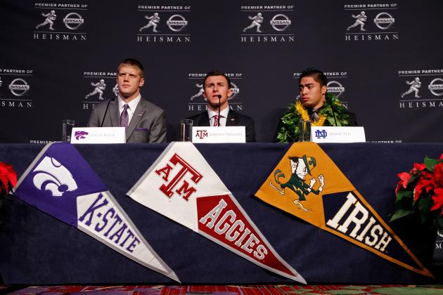 Heisman Odds 2012: Which Finalist Is Most Likely to Take Home the Trophy?