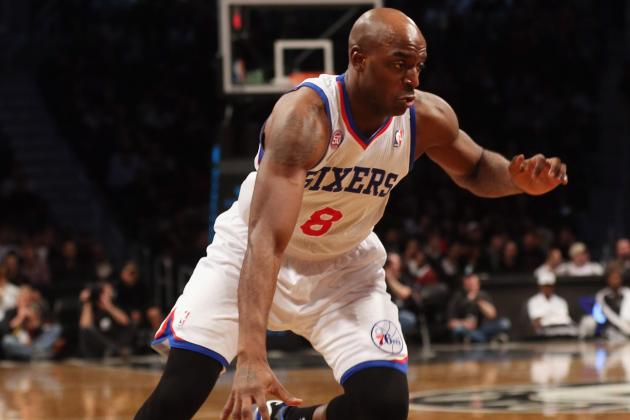 Damien Wilkins out for Remainder of Game vs. C's