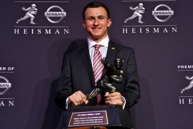 Texas A&M QB Johnny Manziel Wins 2012 Heisman Trophy