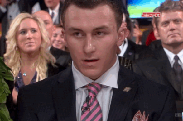 Manziel Reacts to Winning Heisman