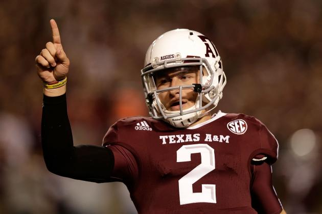 Johnny Manziel: Record-Tying 2nd Heisman Will Elude Aggies QB