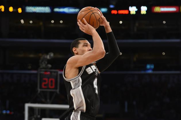 Spurs Set 3-Point Mark in 132-102 Win over Bobcats