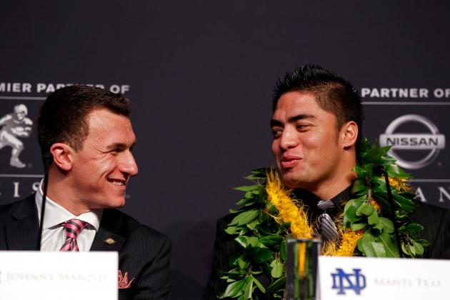 Manti Te'o Will Have Best NFL Career of Heisman Finalists