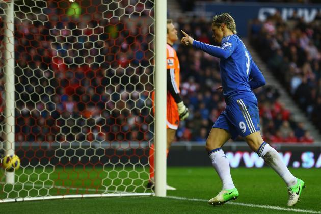 Sunderland 1-3 Chelsea: Could Torres Win Chelsea Fans Over for Benitez?