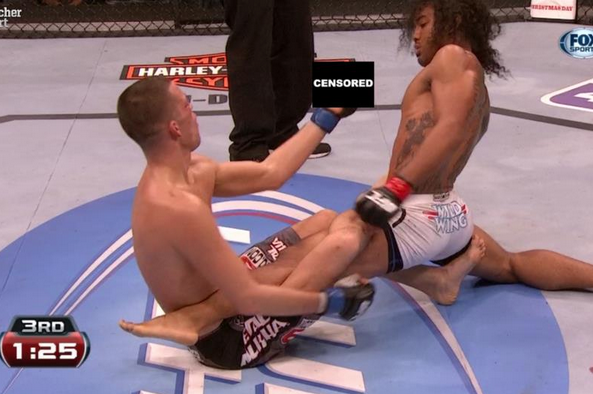 Diaz Goes NSFW on UFC on Fox