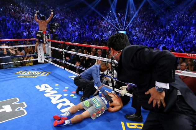 Manny Pacquiao Knockout: Loss Means Fight with Floyd Mayweather Won't Happen
