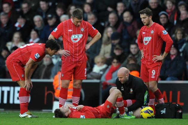 Lallana Injury Scare Overshadows Southampton's 1-0 Victory over Reading
