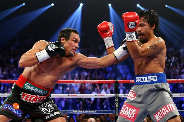 Pacquiao vs Marquez 4 Replay: Photo Recap of Marquez's Devastating 6th-Round KO