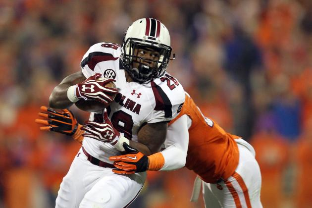 South Carolina Football: How Will Spurrier Replace Lattimore and Miles?