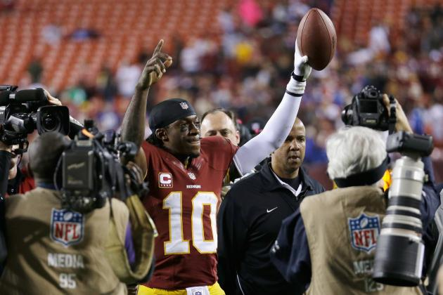 Robert Griffin III Will Begin Cementing Rookie of Year Award with Win vs. Ravens