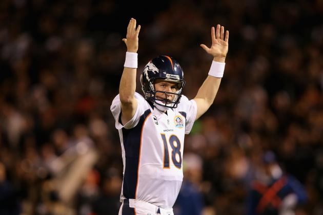 Peyton Manning: NFL Studs Who Will Rival Veteran QB for MVP Award