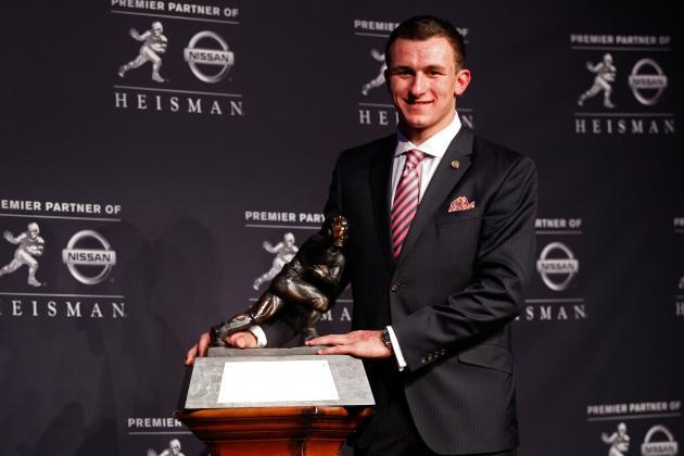 Heisman Trophy 2012: Tim Tebow-Like Stats Prove Johnny Manziel Deserved to Win