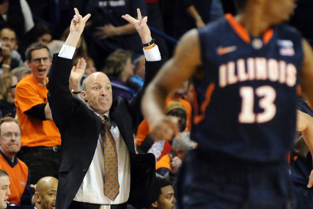 Illinois Has New Coach, New Culture and 10-0 Record After Win at Gonzaga
