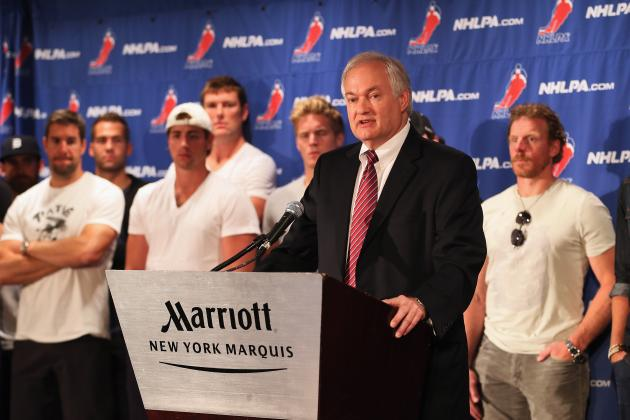NHL Lockout: Owners Must Work with Donald Fehr to Reach CBA, Not Vilify Him
