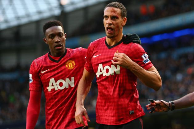 Rio Ferdinand Lacerated After Fan Strikes Manchester United Defender with a Coin