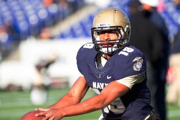 Navy Freshman QB Keenan Reynolds Could Keep Army at Bay for Years