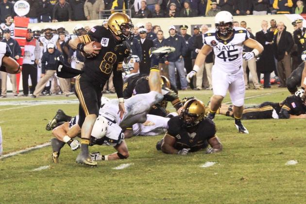 Army vs. Navy: Painful Loss for Trent Steelman and Army