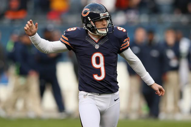 Pregame Injury for Robbie Gould