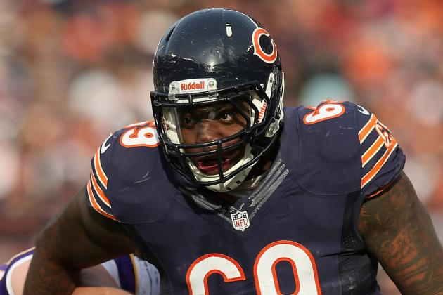 Melton Sent to Bears Locker Room, Return Questionable
