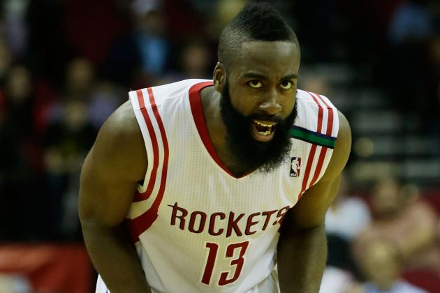 Harden Sits out Practice with Sprained Ankle