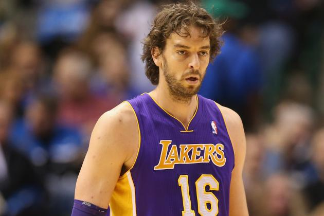 Lakers Rumors: Bringing Pau Gasol off Bench Would Be a Bad Decision for LA