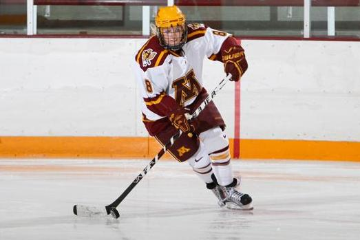 Golden Gophers Start 20-0 on Strength of Amanda Kessel's Hat Trick