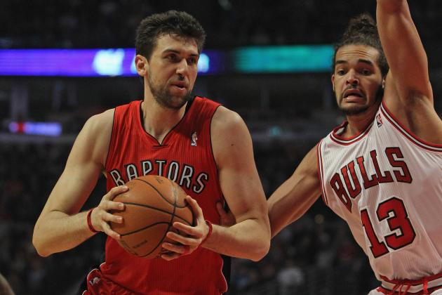 Andrea Bargnani Thinks It 'Makes Sense' He's in Trade Rumors