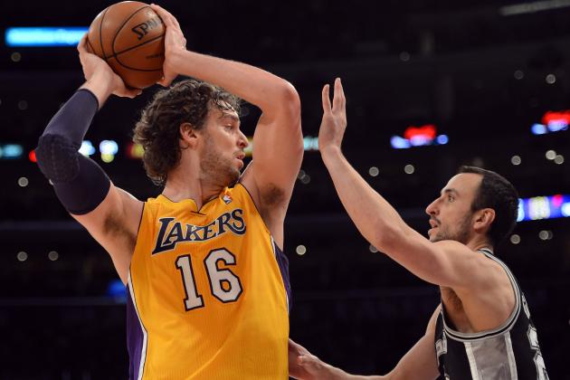 NBA News: Lakers Right to Start Pau Gasol When He Returns to Lineup