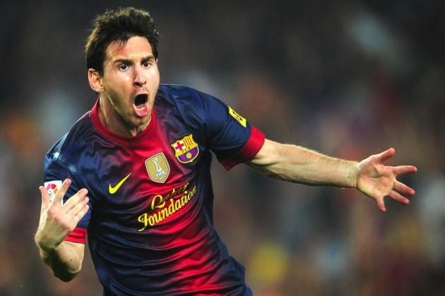 Lionel Messi Sets Record for Most Goals in a Calendar Year