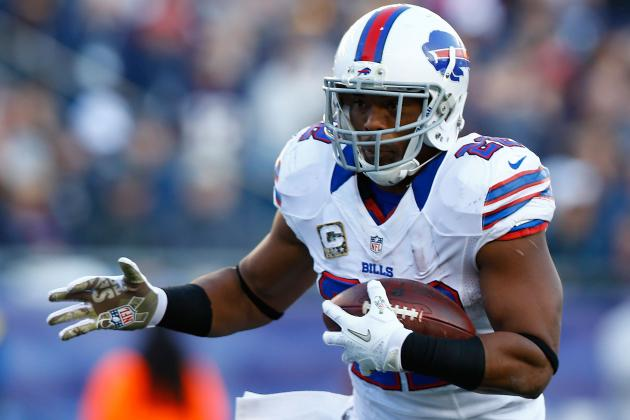 Fred Jackson Injury: Updates on Bills RB's Knee