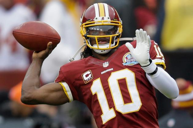 RG III Smiling After Game: 'I'm Gonna Be Alright'