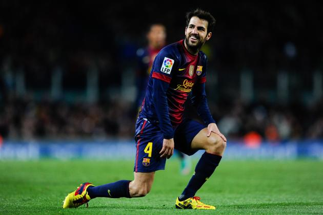Cesc Fabregas Injury: Updates on Barcelona Midfielder's Thigh
