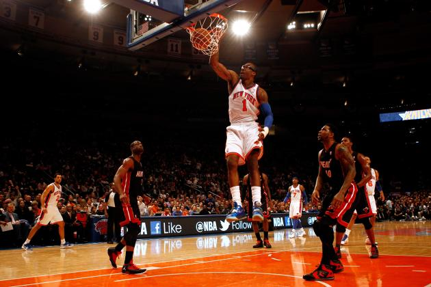 Amar'e Stoudemire Coming off Bench Makes the Knicks a Favorite to Win It All
