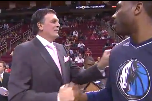 Mavericks Make Classy Gesture Welcoming Kevin McHale Back to the Sideline