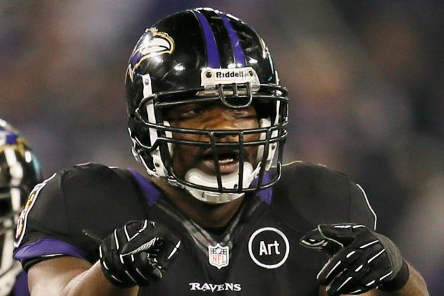 Marshal Yanda Sprains Ankle, Jameel McClain's Neck X-Rays Are Negative