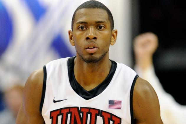 No. 21 UNLV Loses Mike Moser to a Dislocated Right Elbow