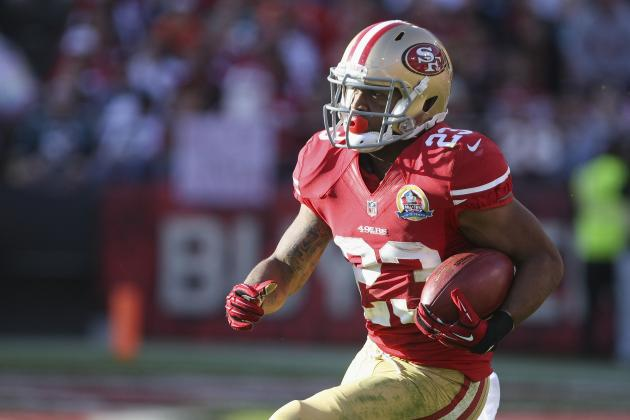 LaMichael James Productive in First NFL Action for 49ers