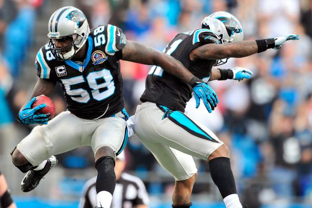 Carolina Panthers' LB Thomas Davis Delivers Big Play, with a Sense of Drama