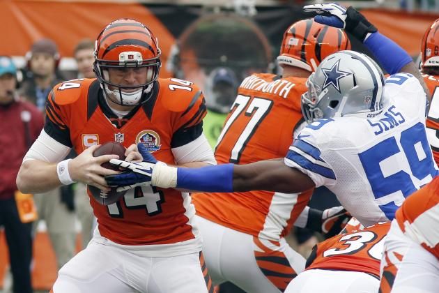 Cowboys vs. Bengals: One Drive Makes the Difference in Cincinnati's Loss
