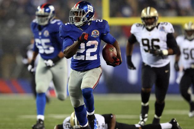 Saints vs. Giants: David Wilson's Emergence Should Strike Fear into NFC Elite