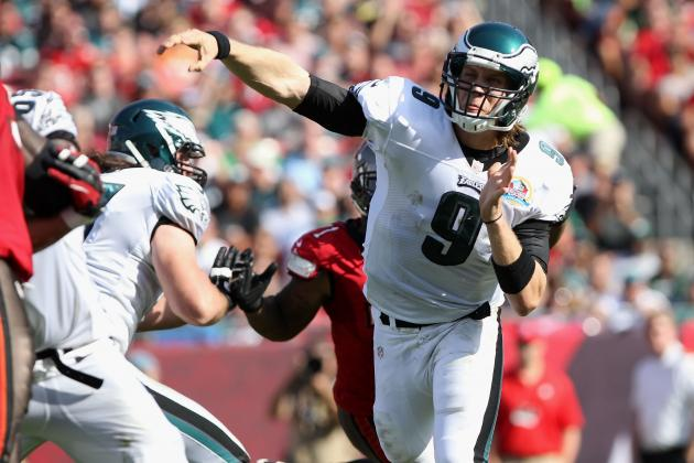 Eagles vs. Buccaneers: Nick Foles Is Making His Case to Start in 2013