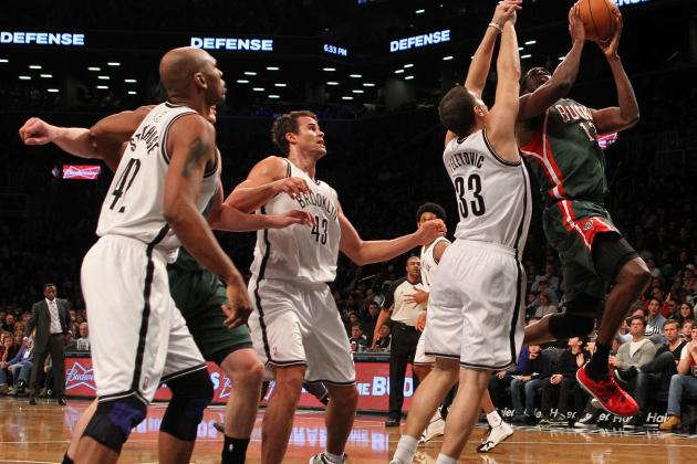 Milwaukee Bucks vs. Brooklyn Nets: Live Score, Results and Game Highlights