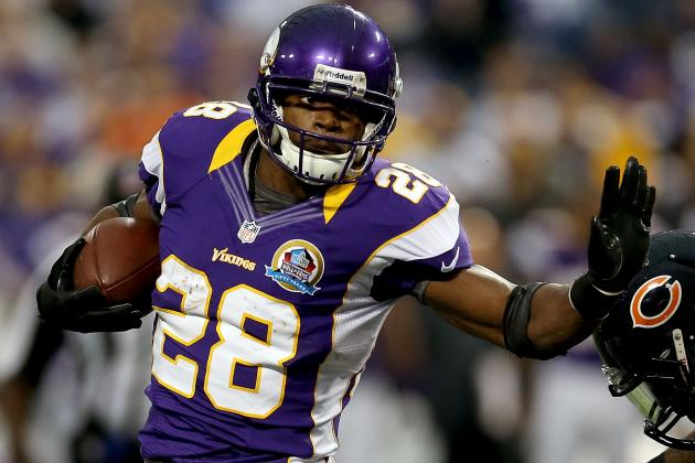 Adrian Peterson Eyes Eric Dickerson's Record