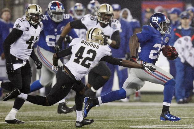 David Wilson Leads Giants Past New Orleans Saints with Breakout Performance