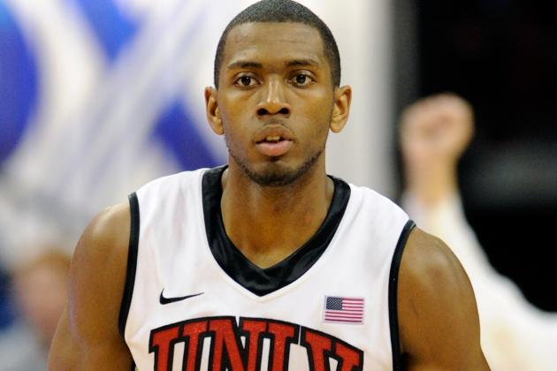 UNLV's Moser Suffers Dislocated Elbow, Could Be Done for Year