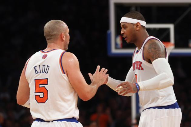 Grading Carmelo Anthony's Return from Hand Injury