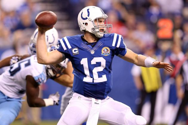 Andrew Luck Winning Games but Quickly Losing Ground in Rookie of the Year Race