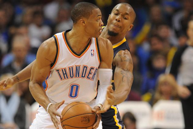 Pacers Hang Around Versus Thunder, but Lose 104-93, Fall Below .500